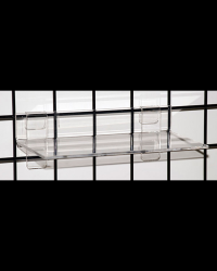 Gridwall Acrylic Shelf