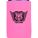 PR15 Can Cooler 12oz Pink Route 66 600