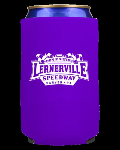 PR15 Can Cooler 12oz Purple Lernerville 600