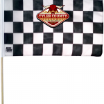 Custom Checkered Flag 1