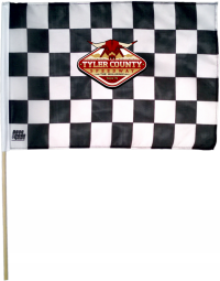 Custom Checkered Flag