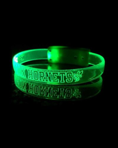 PR90 LED Silicone Band Green 600