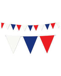 Red, White and Blue Pennant Stringer