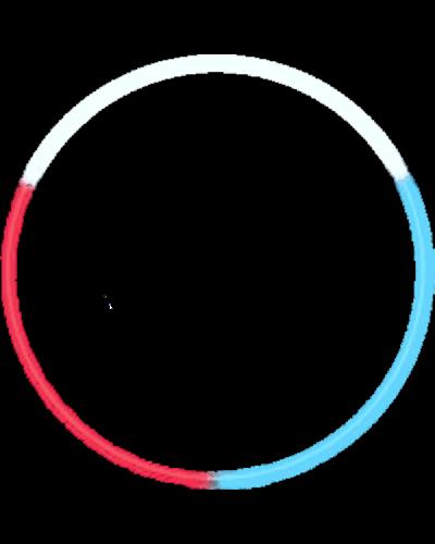 SO105_R-W-B Glow Necklace