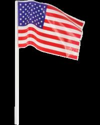 "American Flag 4"" x 6"""
