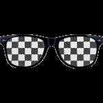 Checkered Lens Sunglasses