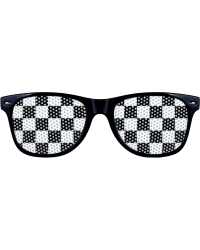 Checkered Lens Sunglasses