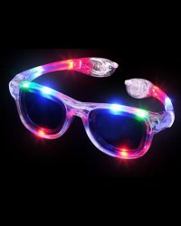 Retro Style Light Up Glasses