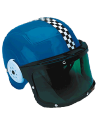 Kid's Racing Helmet w/ Shield