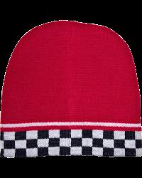 Reversible Checkered Beanie