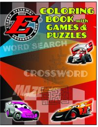 Coloring/Puzzle Book w/Your Track Logo