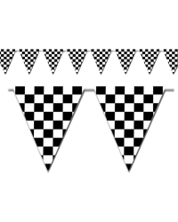 Pennant Stringers Checkered Flag