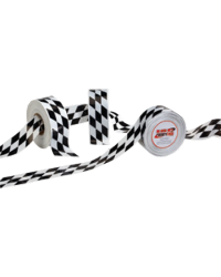 Barrier Tape Plastic, Checkered