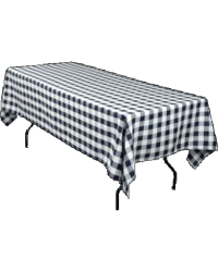 "Plastic Table Covers 54"" x 108"""