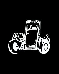Midget Race Car Decal