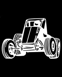 Non Wing Sprint Car