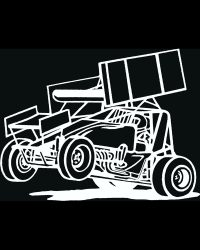 Sprint Car Decal Style 2