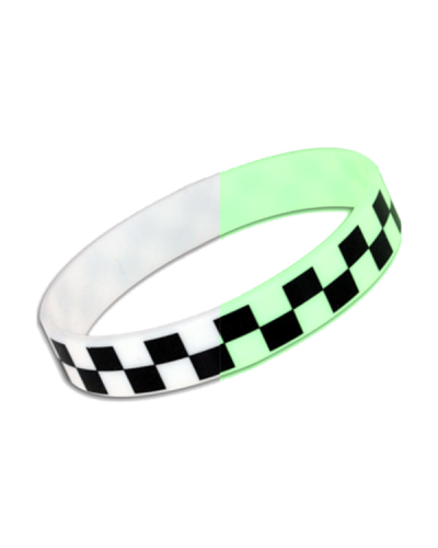 SO78 Silicone Band Glow B-W 600