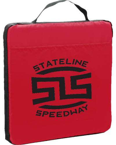 PR181 Fabric Seat Cushion Red STS 600