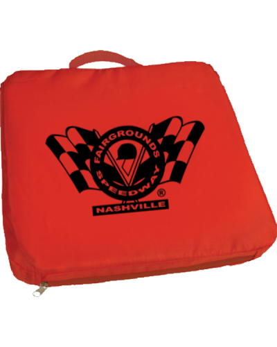 PR250 Seat Cushion Polyester Red Fairgrounds 600