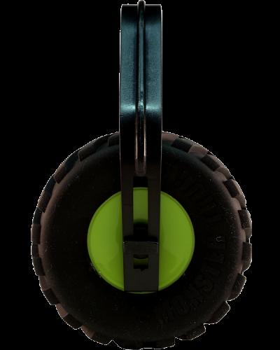 SA70 Monster Tire Ear Muff Lime 600